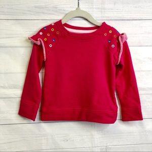 Cat & Jack Girls (Toddler) 2T Crewneck Sweater